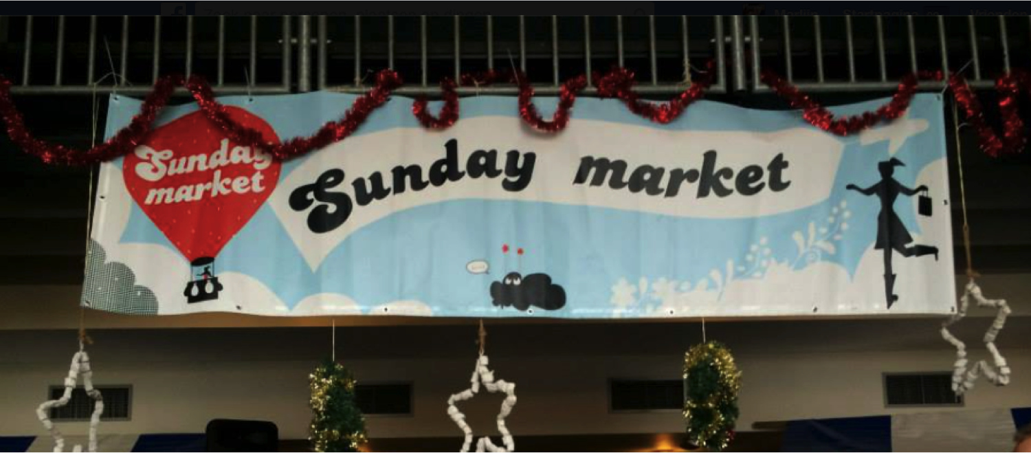 Sunday Market 4 januari