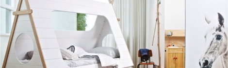 Origineel kinderbed: Tipi bed