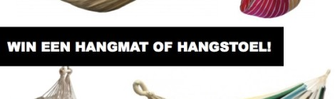 Win een hangmat of hangstoel!